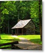 Carter Shields Cabin Metal Print