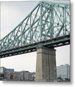 Cartier Bridge Day Metal Print