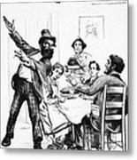 Cartoon: Anarchist, 1893 Metal Print