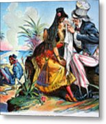 Cartoon: Cuba, 1895 Metal Print