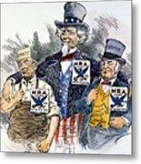 Cartoon: New Deal, 1933 Metal Print