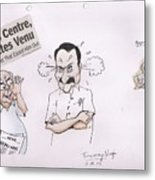 Cartoon Metal Print