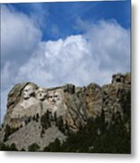 Carved In Stone For Eternity Metal Print