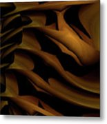 Carved In Wood Metal Print