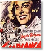 Casablanca B Metal Print
