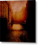 Casanova's Waterway Metal Print