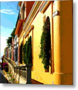 Casas On The Hill By Darian Day Metal Print
