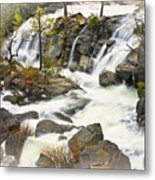 Cascade Creek From Above Metal Print