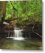 Cascade Happy Trail Metal Print