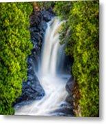 Cascade - Lower Falls Metal Print