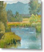 Cascade Pond Metal Print