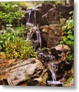 Cascades N Pool Metal Print