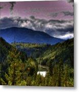 Cascades View Metal Print