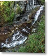 Cascadilla Falls Creek Gorge Trail Giant's Staircase Metal Print
