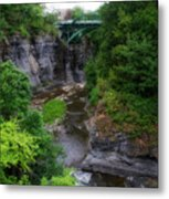 Cascadilla Gorge Cornell University Ithaca New York 01 Metal Print