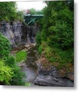 Cascadilla Gorge Cornell University Ithaca New York 02 Metal Print