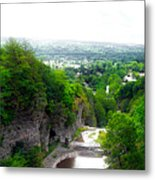 Cascadilla Gorge Cornell University Ithaca New York Panorama Metal Print