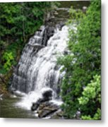 Cascadilla Waterfalls Cornell University Ithaca New York 03 Metal Print