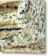 10196 Cascading Water 01b Metal Print