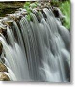Cascading Water Metal Print
