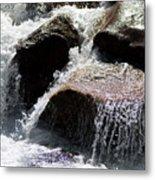 Cascading Waters Metal Print