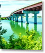 Casco Bay Bridge Metal Print
