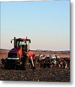 Case Ih Power Metal Print
