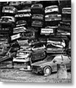 Cash For Clunkers Metal Print