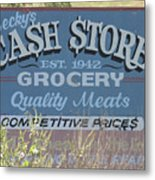 Cash Is King Metal Print