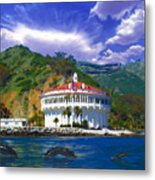 Casino From The Water Metal Print