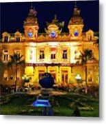 Casino Monte Carlo Metal Print by Jeff Kolker