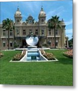Casino Of Monaco Metal Print
