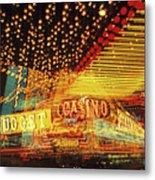 Casino Metal Print