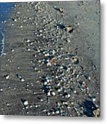 Caspersen Beach- Vertical Metal Print