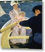 Cassatt: Boating, 1893-4 Metal Print by Granger