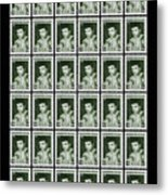 Cassius Clay World Champion Stamp Metal Print