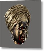 Cast In Character 2013 - Side View Transparent With Red Spotlight Metal Print