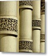 Cast Iron Columns Metal Print