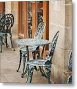 Cast Iron Garden Furniture Metal Print