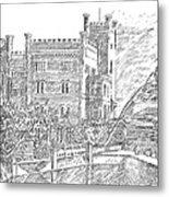 Castello Di Miramare Metal Print