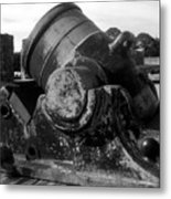 Castillo Cannon Metal Print