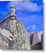 Castillo El Morro Havana Cuba  Metal Print