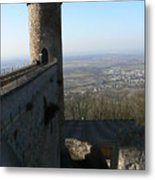 Castle   To The Tower Too Metal Print