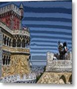 Castle 0f Lurid Dreams Metal Print