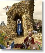 Castle Acre Fairy Land Metal Print