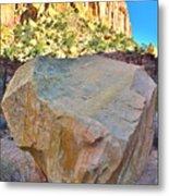 Castle Boulder Metal Print