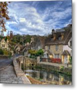 Castle Combe England Metal Print