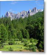 Castle Crags Metal Print