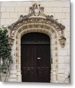 Castle Entrance Door Metal Print