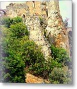 The Enemy Is Still Hiding In The Old Castle  Metal Print